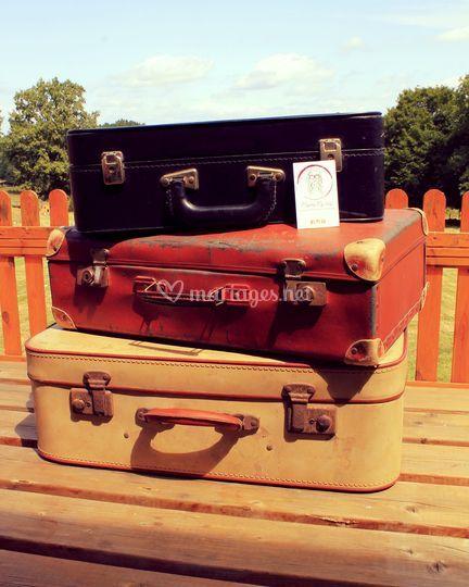 Les valises rétro