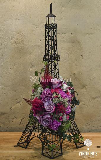 Tour fleurie