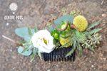 Barette de fleurs fraîches
