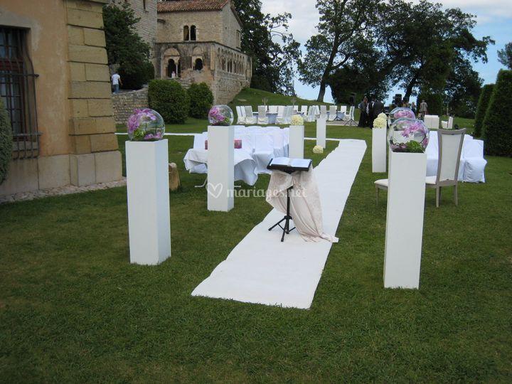 Cérémonie de mariage Parc