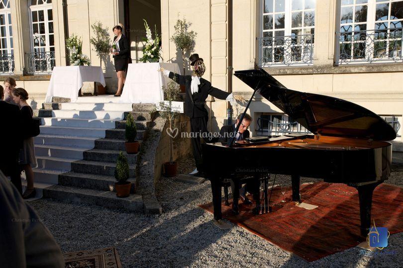 Animation piano
