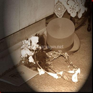 Chapeau et tiara