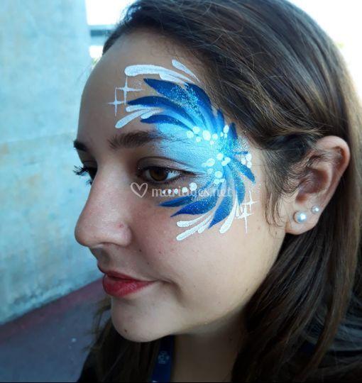 Décor bleu