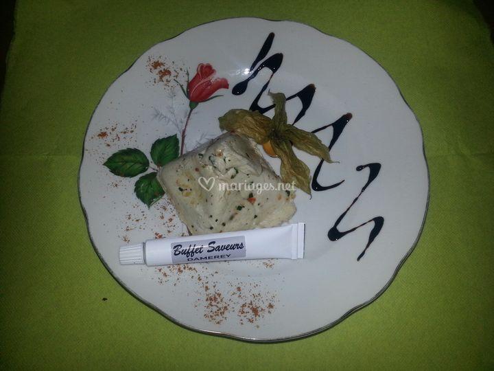 Assiette pyramide de volaille