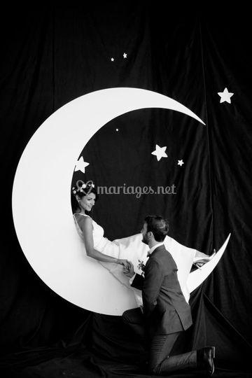 Décor lune sur mesure