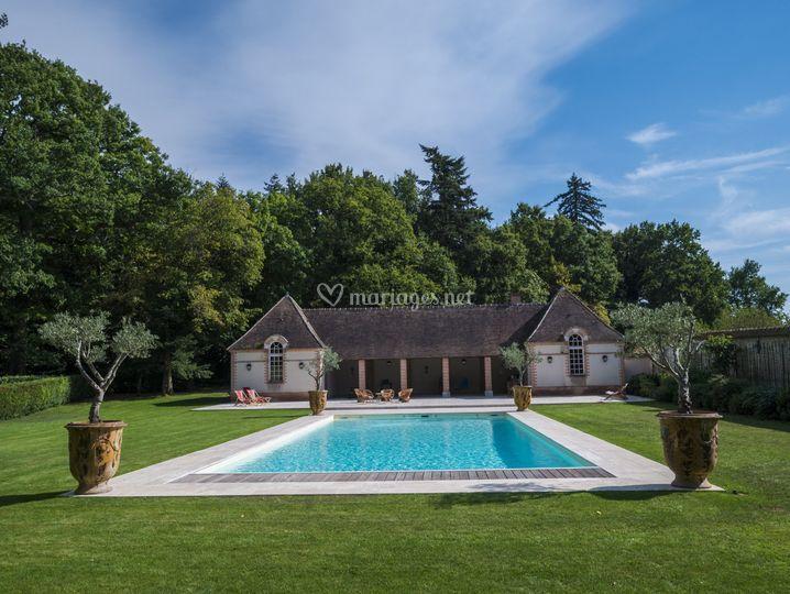 Pool House et piscine