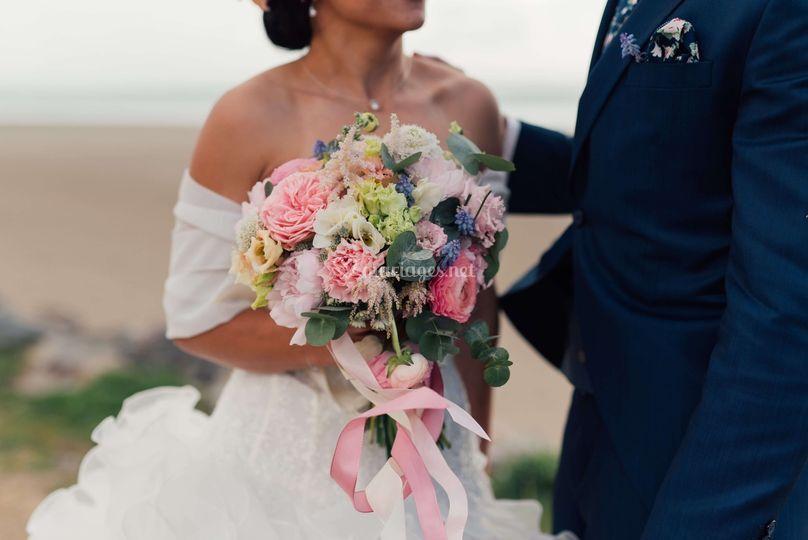 Les jeunes mariés E et Y