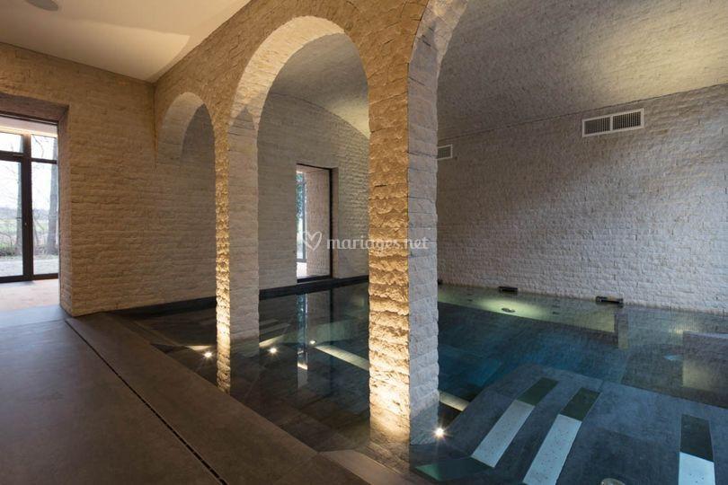 Le spa privatif de la villa