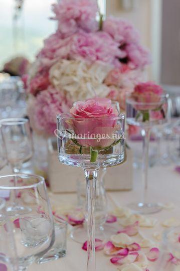 Détail : décoration de table
