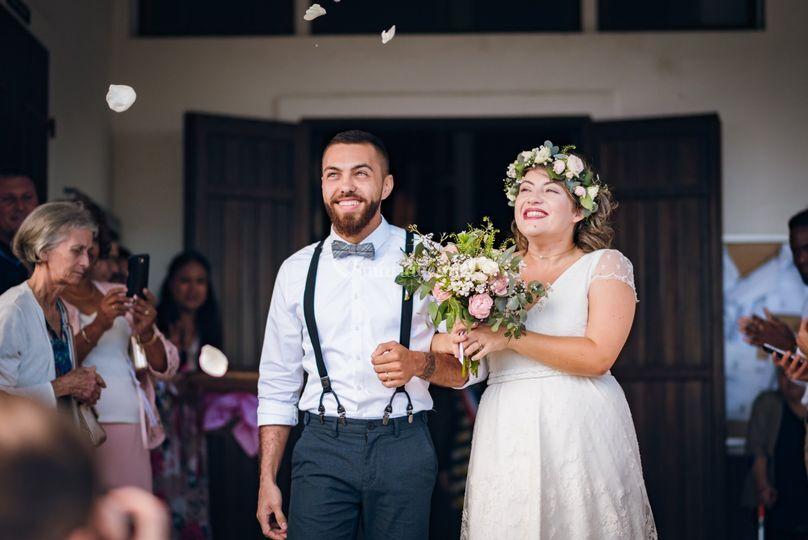 La joie d'être mari et femme