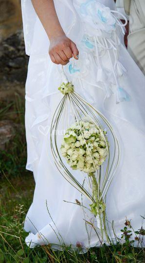"""Bouquet """"cage"""""""