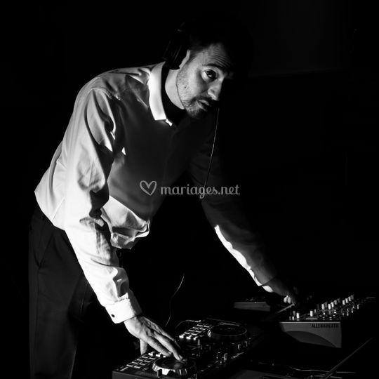 Un DJ impliqué