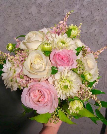 Bouquet classique romantique
