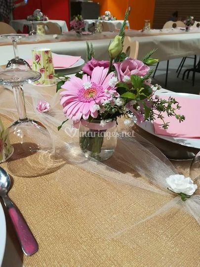 Bouquets de table assortis