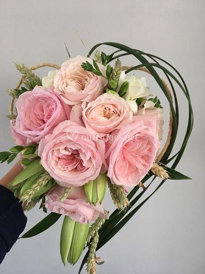 """Bouquet mariée """"coeur"""""""