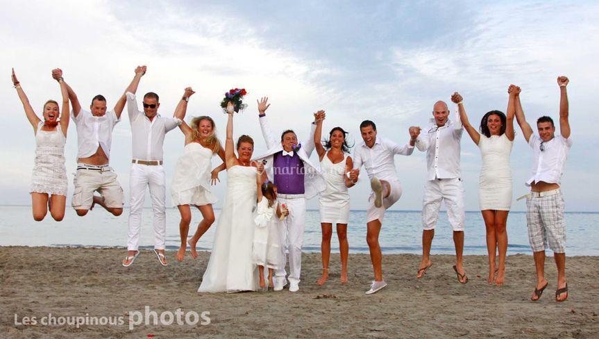 Jump les mariés