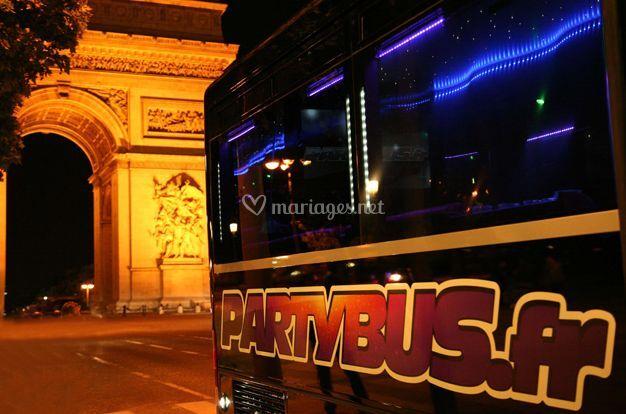 Détail de l'autobus