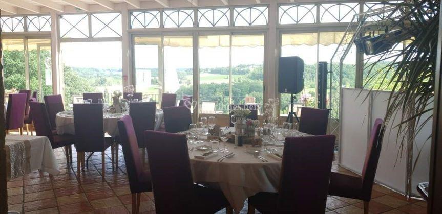 Tables des invités
