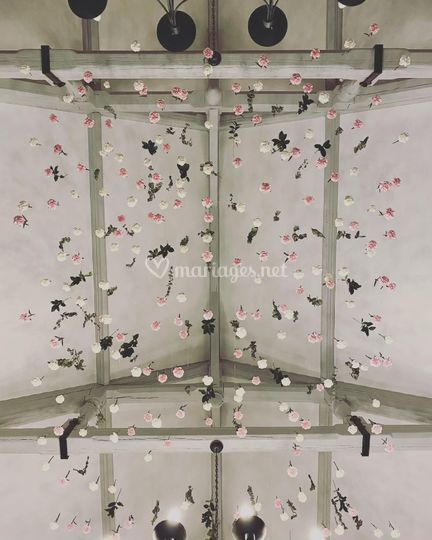 Plafond fleurs