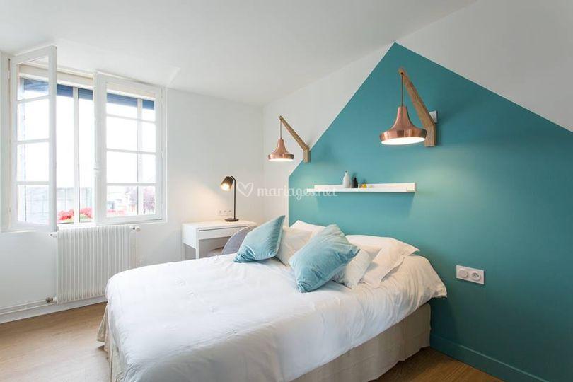 Une chambre confort