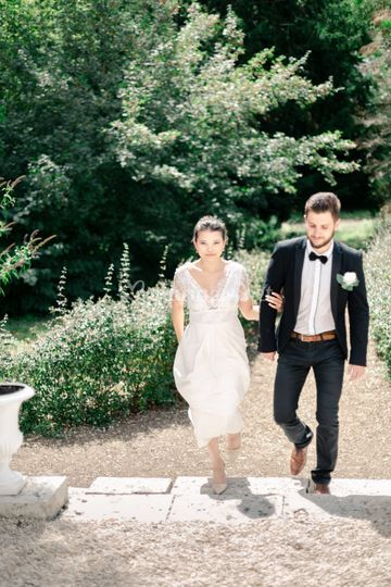 Arrivée des mariés - M&K