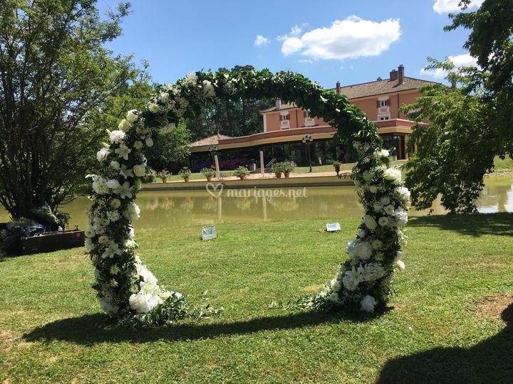 Arche Florale Ronde