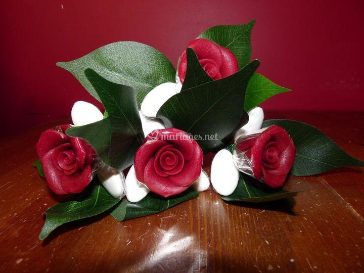 La rose vêtue de blanc !