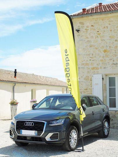 Audi Q2 gris