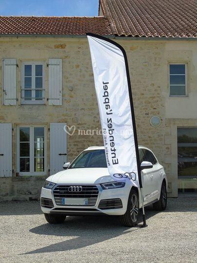 Audi Q5 blanc