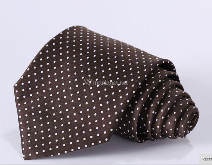 Des cravates en soie