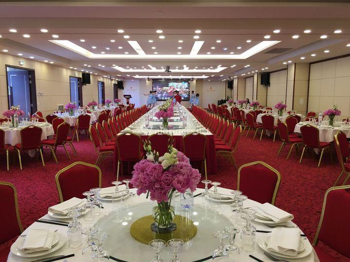 Salle réception 250 personnes