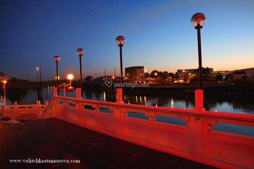 Bord de Seine nocturne