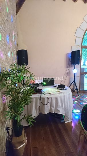 L'espace DJ