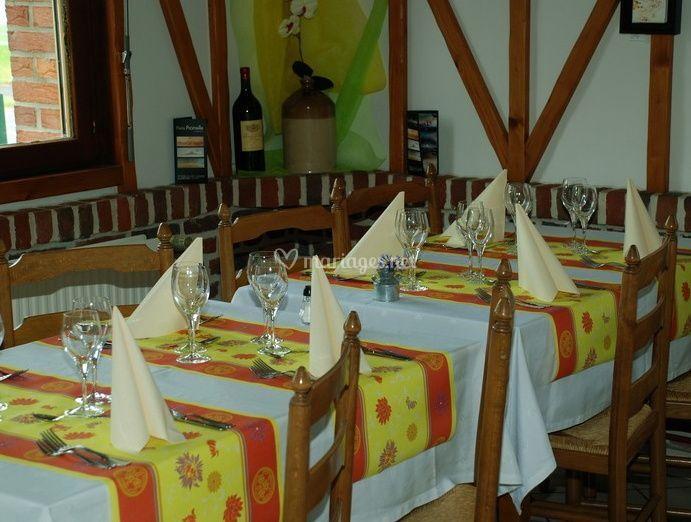 Idéal pour toutes les occasions de restaurant la kruys
