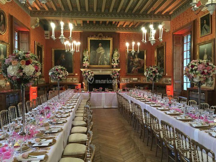 grande galerie sur chteau de breteuil - Chateau De Breteuil Mariage