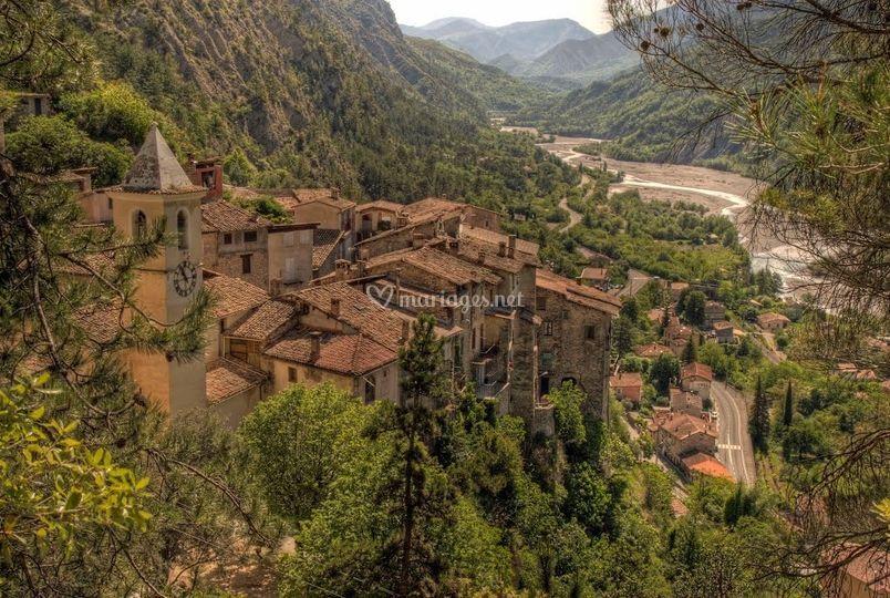 Haut village Touët-sur-Var