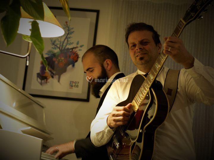 Duo piano - guitare/chant