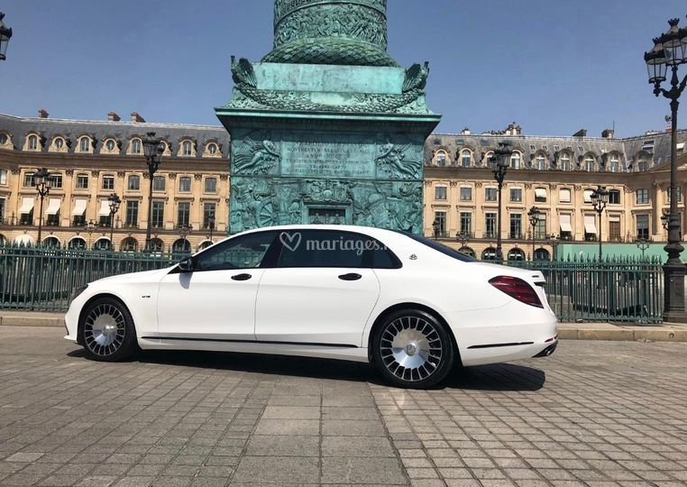 Maybach blanche