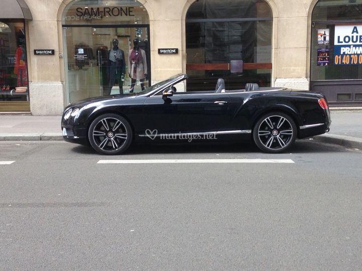 Bentley continental cab
