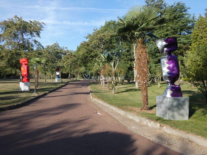 La Patulière - Allée parc