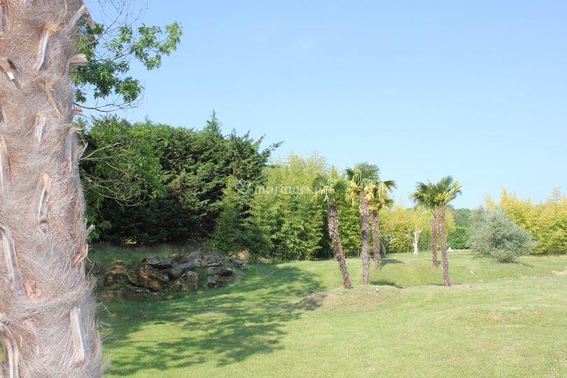La Renarde - Jardin exotique