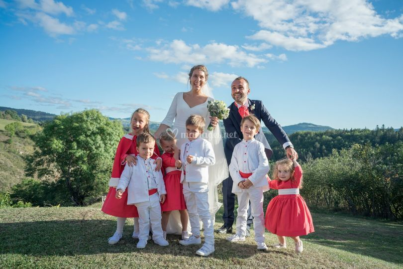 Groupe mariés
