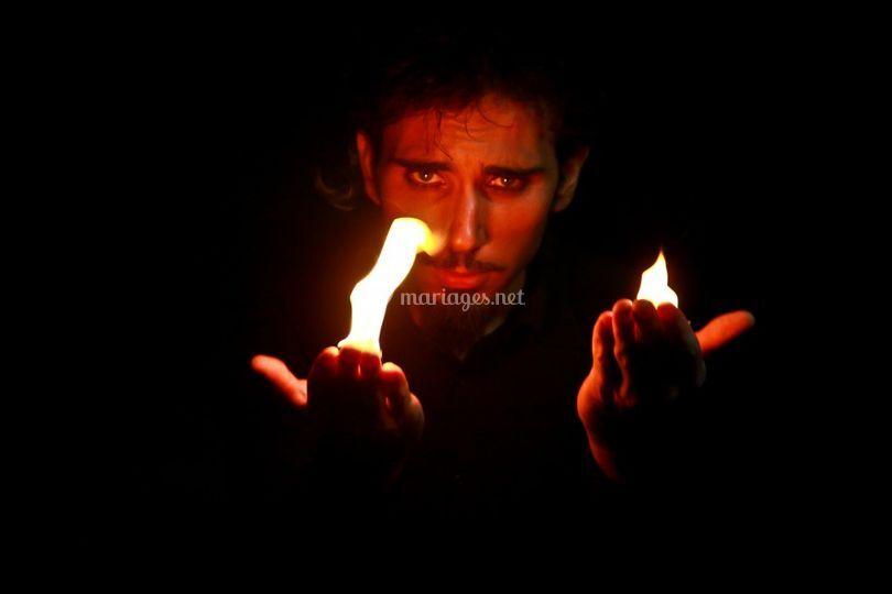 Magicien du feu