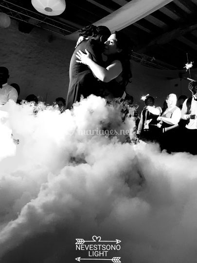 Danser ur un nuage