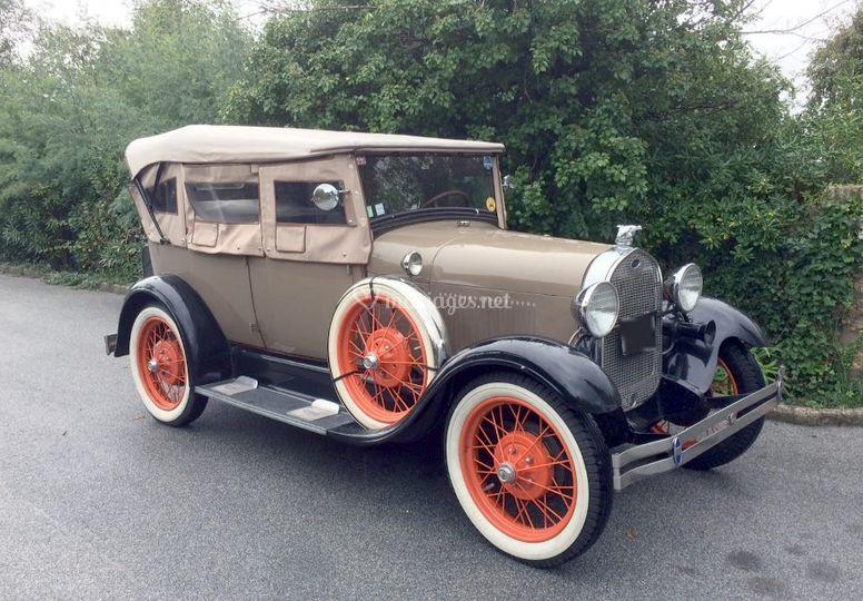 """Ford A """"Bonnie & Clyde"""""""