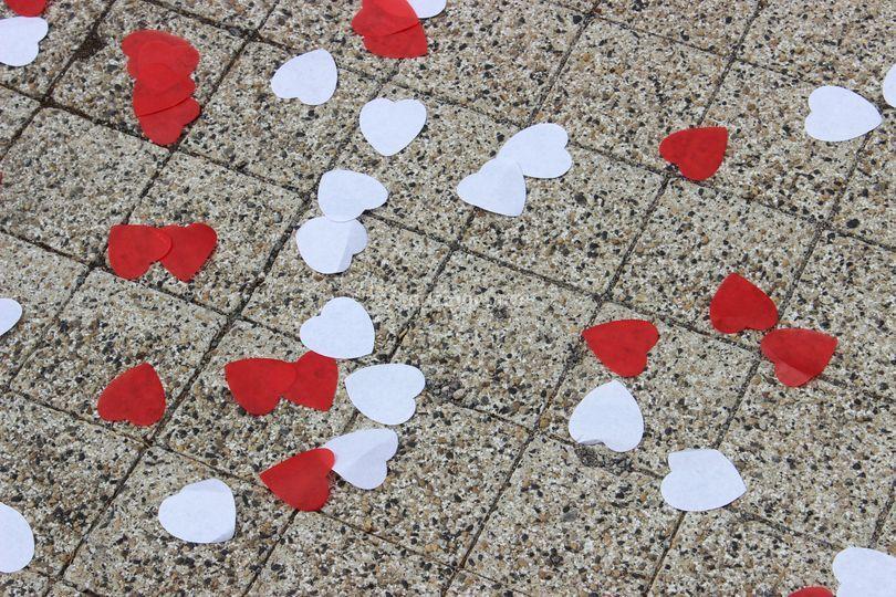 Pétales de coeur
