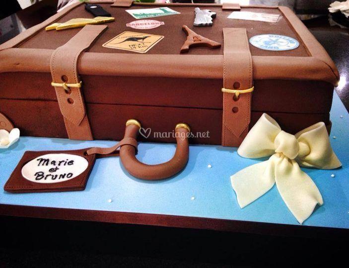 Wedding Cake Thème Voyages !
