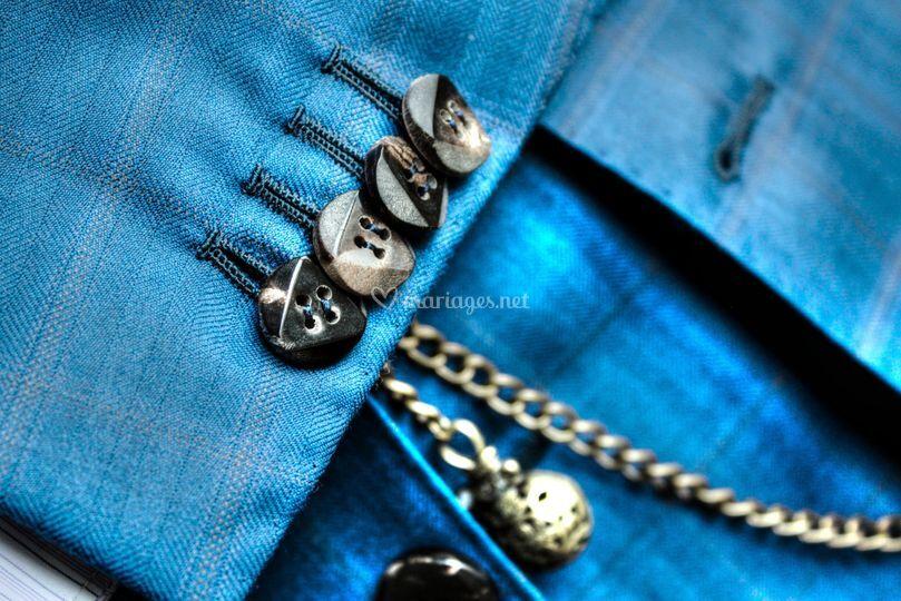 Boutonnières cousues à la main