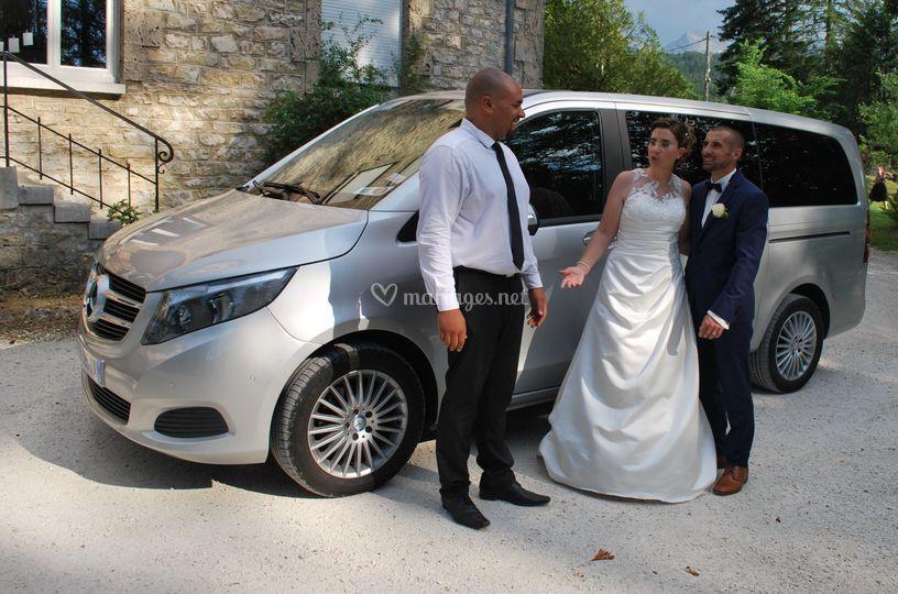 Les Mariés et le Chauffeur