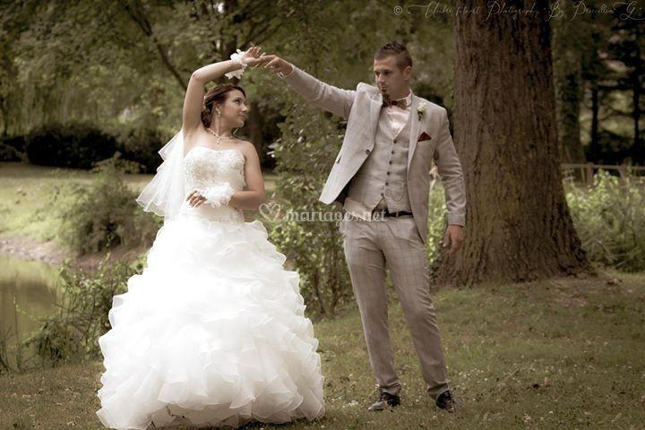 Mariée et robe pétillante !